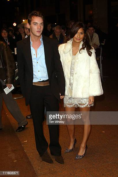 Jonathan RhysMeyers and Reena Hammer during The Times BFI London Film Festival 2004 'Vanity Fair' Screening at Odeon West End in London Great Britain