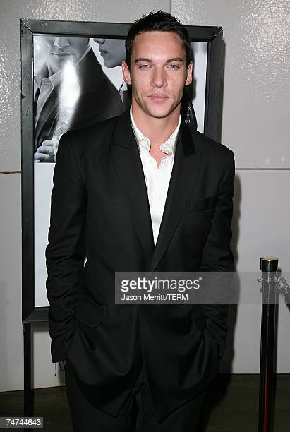 Jonathan RhysMeyers at the Match Point Los Angeles Premiere Arrivals at LACMA in Hollywood California