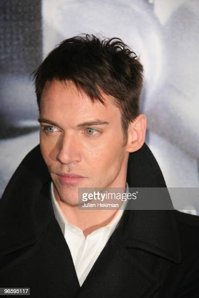 Jonathan RhysMeyers attends 'From Paris with Love' Paris premiere at Cinema UGC Normandie on February 11 2010 in Paris France