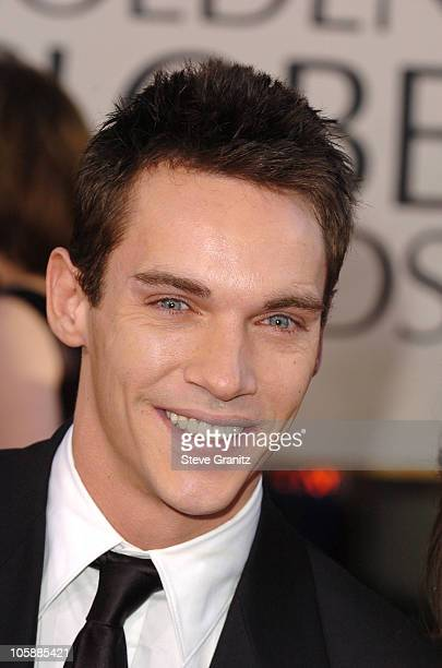 Jonathan RhysMeyers during The 63rd Annual Golden Globe Awards Arrivals at Beverly Hilton Hotel in Beverly Hills California United States