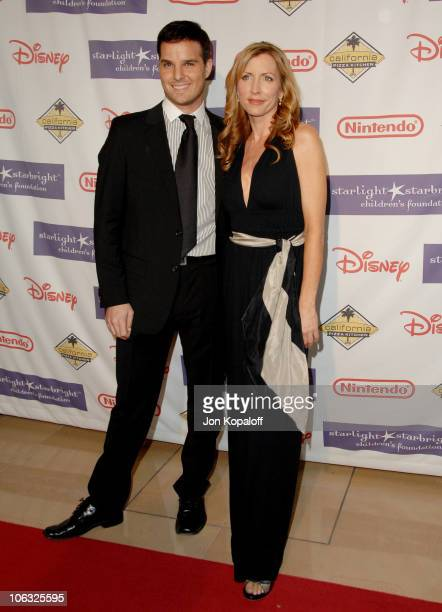 Jonathan Roberts and Heather Mills during 2007 Starlight Starbright Children's Foundation Gala - Arrivals at The Beverly Hilton in Beverly Hills,...
