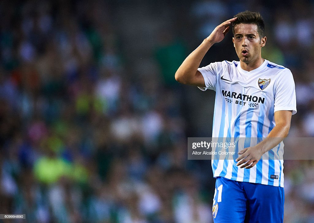Real Betis Balompie v Malaga CF - La Liga