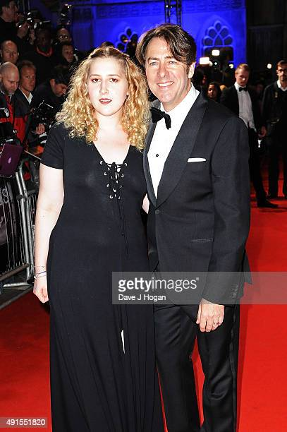 Jonathan Ross and daughter Honey attend the BFI Luminous Funraising Gala at The Guildhall on October 6 2015 in London England