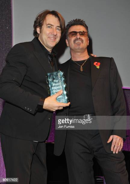 Jonathan Ross and George Michael attend the Music Industry Trusts' Awards at The Grosvenor House Hotel on November 2 2009 in London England