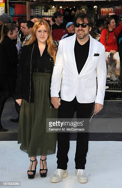 Jonathan Ross and his daughter Honey Kinney Ross attend the UK Premiere of 'Star Trek Into Darkness' at The Empire Cinema on May 2 2013 in London...