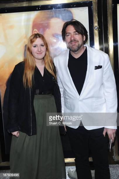Jonathan Ross and his daughter Honey Kinney Ross attend the UK Premiere of Star Trek Into Darkness at The Empire Cinema on May 2 2013 in London...