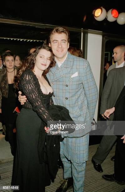 Jonathan Ross and his wife Jane Goldman attend the London premiere of 'Pulp Fiction' 17th October 1994