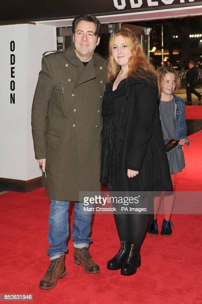 Jonathan Ross and Honey Kinney Ross arriving for the World Premiere of The Hunger Games Catching Fire at the Odeon Leicester Square London