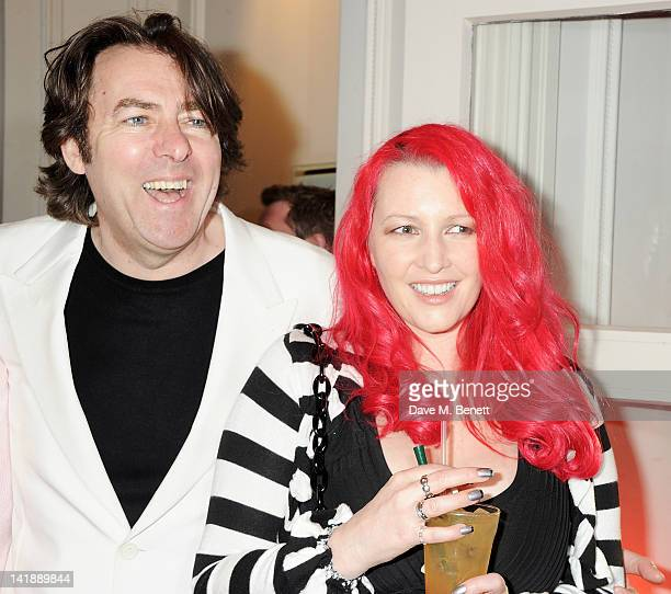 Jonathan Ross and Jane Goldman arrive at the Jameson Empire Awards at Grosvenor House on March 25 2012 in London England