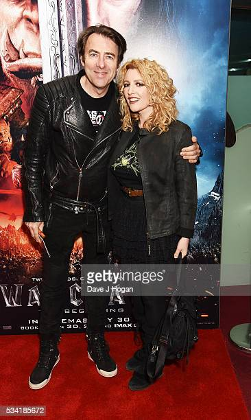 Jonathan Ross and Jane Goldman attend a special screening of 'Warcraft The Beginning' at BFI IMAX on May 25 2016 in London England