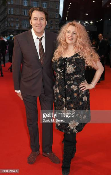 Jonathan Ross and Jane Goldman attend the BFI Patron's Gala UK Premiere of 'Downsizing' during the 61st BFI London Film Festival on October 13 2017...