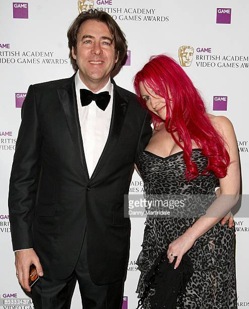 Jonathan Ross and wife Jane Goldman attend the BAFTA Video Games Awards at London Hilton on March 10 2009 in London England