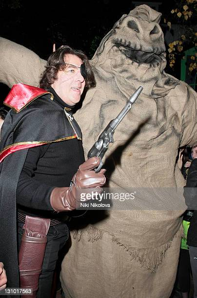 Jonathan Ross at his Annual Halloween Party on October 31 2011 in London England