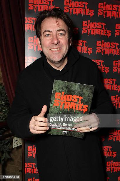 Jonathan Ross attends the after party for the press night of Ghost Stories at on February 27 2014 in London England