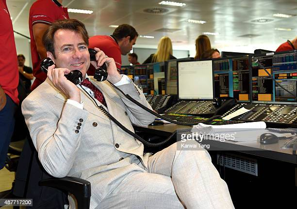 Jonathan Ross attends the annual BGC Global Charity Day at BGC Partners on September 11 2015 in London England
