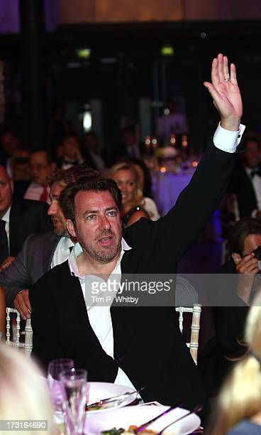 Jonathan Ross attends the Novak Djokovic Foundation inaugural London gala dinner at The Roundhouse on July 8 2013 in London England The foundation...