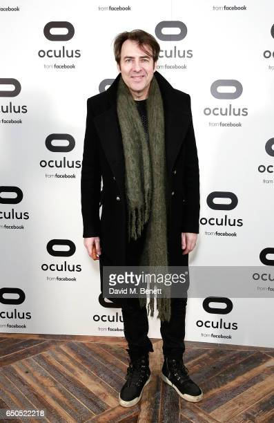 Jonathan Ross attends the Oculus Game Days VIP opening night hosted by the Facebook owned virtual reality company Oculus on March 9 2017 in London...