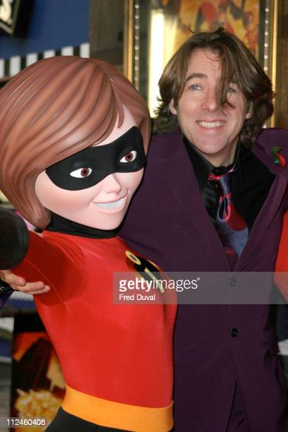 Jonathan Ross during The Incredibles London Premiere at Empire Leicester Square in London United Kingdom