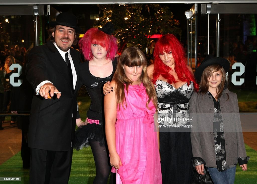Jonathan Ross, his wife Jane Goldman and family arrive for ...