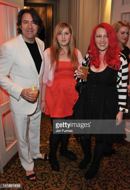 Jonathan Ross Honey Kinney and Jane Goldman attend the Jameson Empire Awards 2012 at Grosvenor House on March 25 2012 in London England