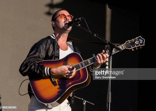 Jonathan Russell of The Head and the Heart performs during Voodoo Music Arts Experience at City Park on October 29 2017 in New Orleans Louisiana