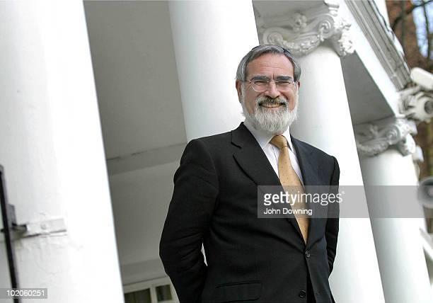 Jonathan Sacks, the Chief Rabbi of Great Britain and the Commonwealth, circa 2000.