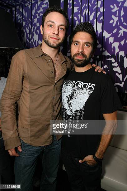 Jonathan Sadowski and Josh Gomez at the 20th Anniversary of Madden NFL Franchise Celebration Hosted by EA Sports at STK/CoCo De Ville in West...