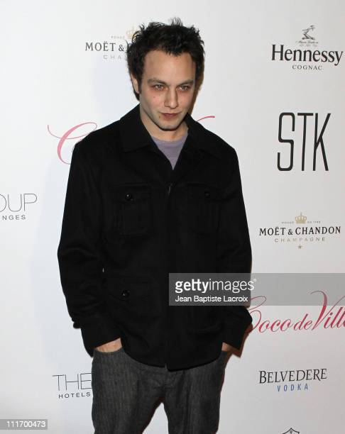 Jonathan Sadowski attends Mischief Night 2009 at STK on October 30 2009 in Hollywood California
