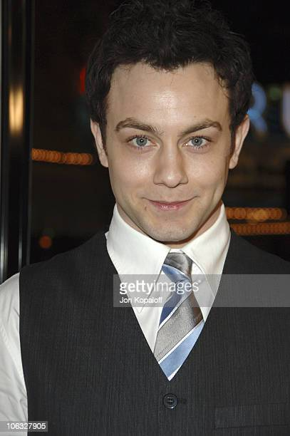 Jonathan Sadowski during DreamWorks' She's the Man Los Angeles Premiere Red Carpet at Mann's Village in Westwood California United States