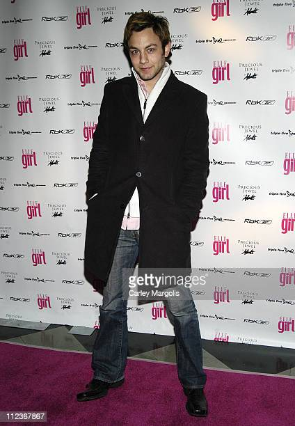 Jonathan Sadowski during ELLEgirl's Third Annual Music Party and Celebration of New EditorInChief Christina Kelly's First Issue at Webster Hall in...