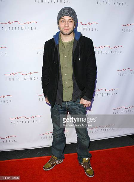 Jonathan Sadowski during Sunset Beach Grand Opening November 29 2006 at Sunset Beach Restaurant and Lounge in Los Angeles California United States