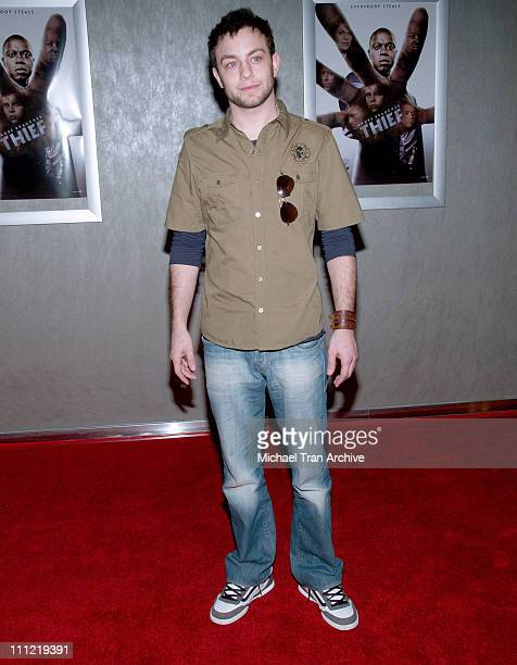 Jonathan Sadowski during Thief Los Angeles Premiere Inside Arrivals at Pacific Design Center in West Hollywood CA United States