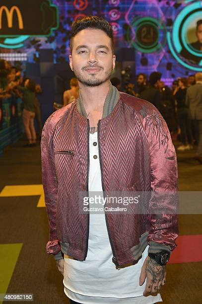 Jonathan Sanchez attends Univision's Premios Juventud 2015 at Bank United Center on July 16 2015 in Miami Florida