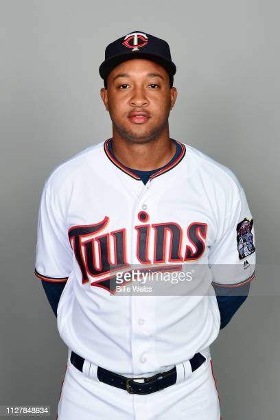 Jonathan Schoop of the Minnesota Twins poses during Photo Day on Friday February 22 2019 at CenturyLink Sports Complex in Fort Myers Florida