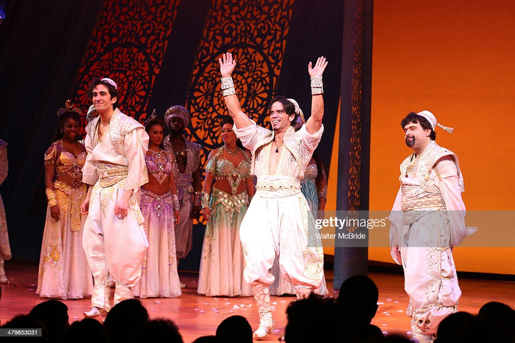 'Aladdin' On Broadway Opening Night - Arrivals & Curtain Call : News Photo