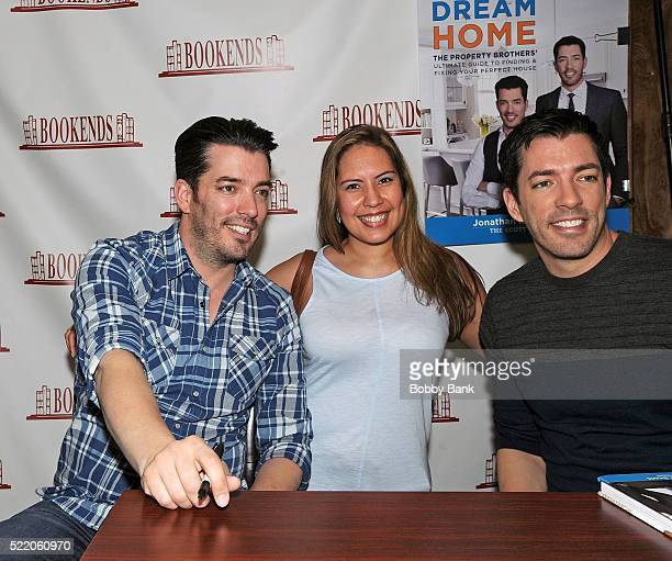 Jonathan Scott And Drew Of The Show Property Brothers With Fans Attend