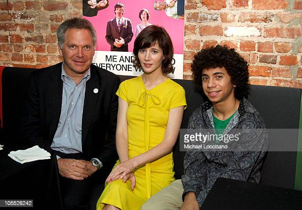 Jonathan Sehring executive producer/president of IFC Entertainment Miranda July and Miles Thompson