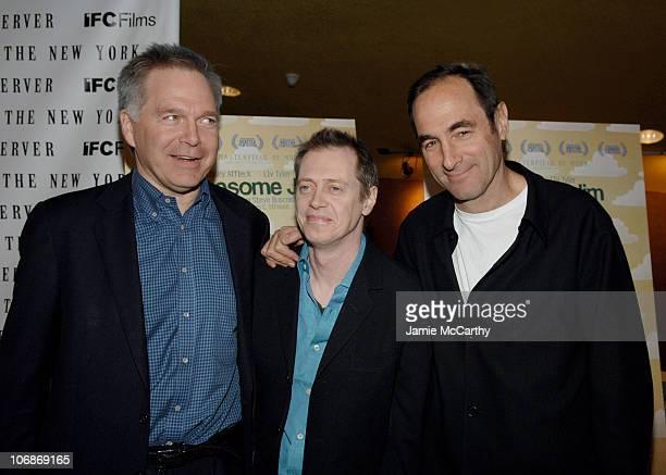 Jonathan Sehring president of IFC Entertainment Steve Buscemi and Josh Sapan President and CEO of Rainbow Media