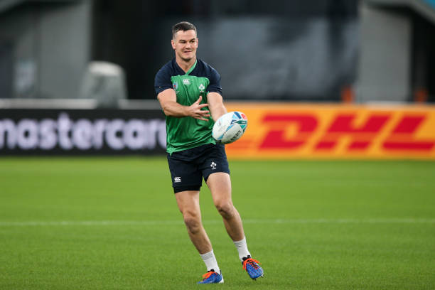 JPN: Ireland Captain's Run