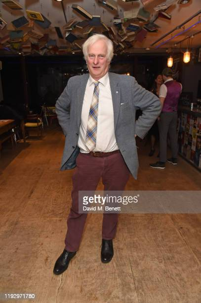 Jonathan Shackleton attends the press night after party for Shackleton And His Stowaway at The Park Theatre on January 10 2020 in London England