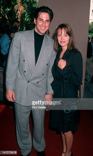 Jonathan Silverman and Anna Lee at the 1995 Golden Apple Awards Beverly Hills Hotel Beverly Hills