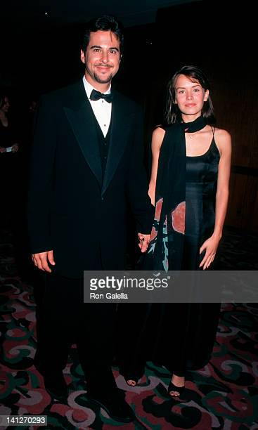 Jonathan Silverman and Anna Lee at the 4th Annual Michael Awards for Fashion, New York Hilton Hotel, New York City.