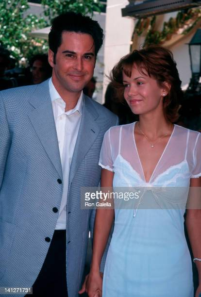 Jonathan Silverman and Anna Lee at the Benefit for Lookinglass Theater Chasen's Restaurant Beverly Hills