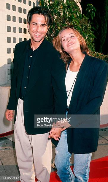 Jonathan Silverman and Anna Lee at the Premiere of 'Little Big League' Cinerama Dome Theater Hollywood
