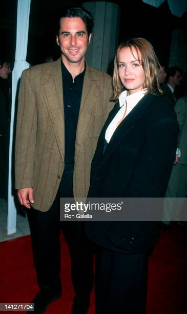Jonathan Silverman and Anna Lee at the World Premiere of 'Bye Bye Love', Mann National Theater, Westwood.