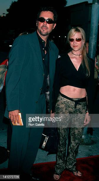 Jonathan Silverman and date at the Premiere of 'American Outlaws', Mann Village Theater, Westwood.