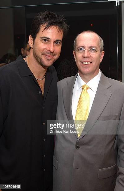 Jonathan Silverman and David Caruthers CEO of BETonSPORTS