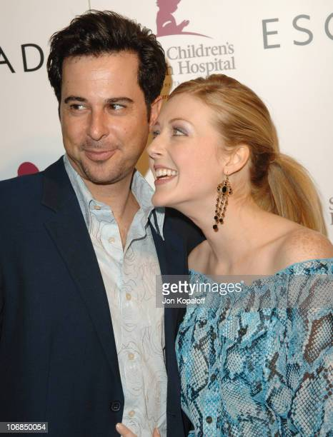 Jonathan Silverman and Jennifer Finnigan during Escada's 2006 Spring/Summer Collection Launch to Benefit St. Jude Children's Research Hospital at...