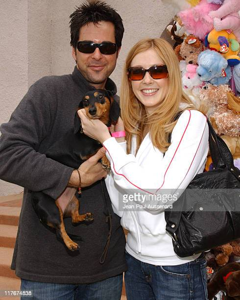 Jonathan Silverman and Jennifer Finnigan during Silver Spoon Dog and Baby Buffet Day 1 at Private residence in Hollywood California United States...