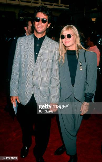 Jonathan Silverman and Julie McCullough at the Premiere of 'Young Guns 2', Mann Chinese Theater, Hollywood.